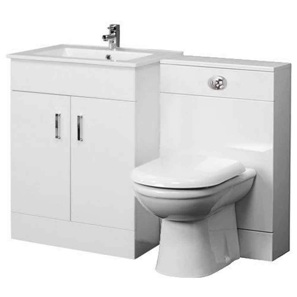 Minimalist gloss white vanity unit 600 800 or 1000mm - Our Feedback