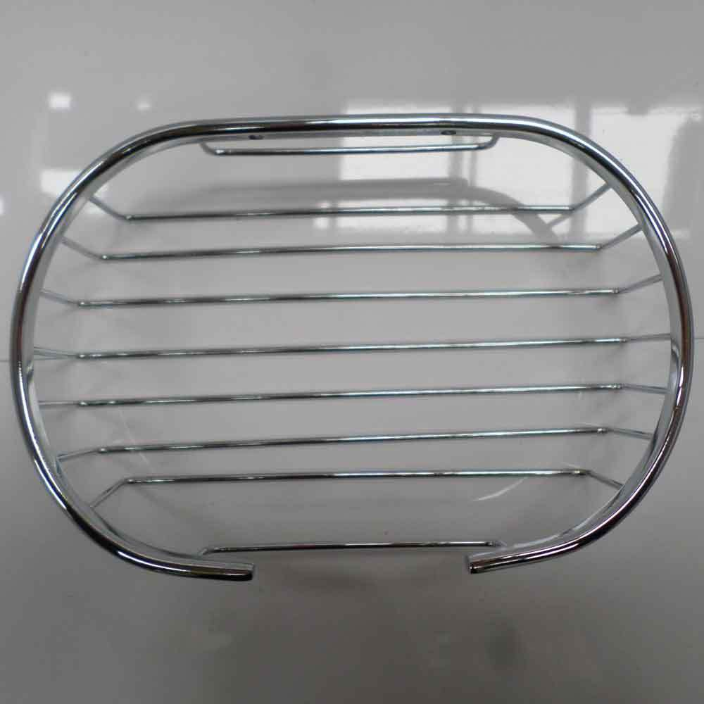 Soap shower basket bathroom chrome wire work accessories for Basket bathroom accessories