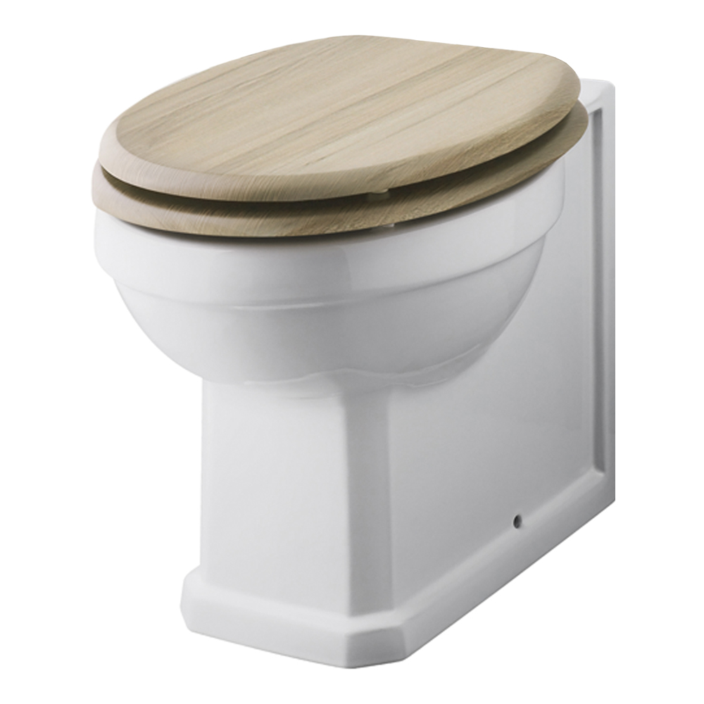 old london natural walnut soft close wooden toilet seat