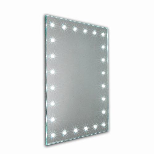 Led Bathroom Mirror Infrared Sensor Shaver Point Demister